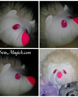 WhiteFluffyQuillowPlushy